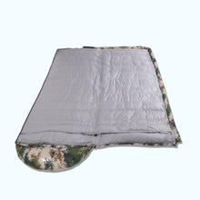 outdoor sleeping bag open