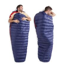 goose down sleeping bag navy